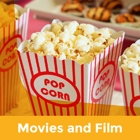 Movies for kids events calendar